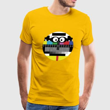 TV Test Pattern - Men's Premium T-Shirt