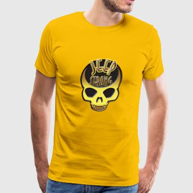 Jeep Skull Jeep - Men's Premium T-Shirt