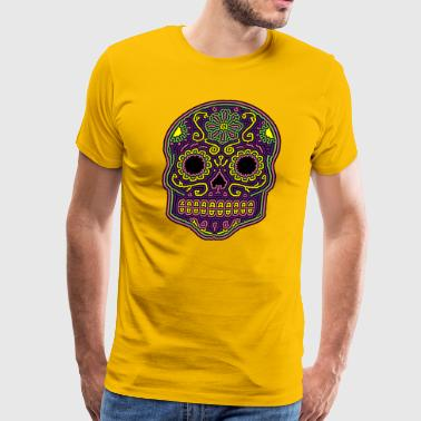 Graphic Skull Sugar Skull - Men's Premium T-Shirt