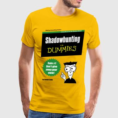 Shadowhunters - Shadowhunting For Dummies - Men's Premium T-Shirt