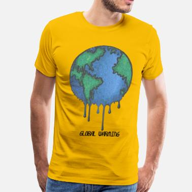 Mother Earth Earth Day Stop Global Warming - Men's Premium T-Shirt