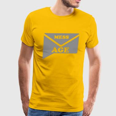 MESSAGE - Men's Premium T-Shirt