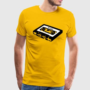 tape mixtape oldschool retro casual hipster gift - Men's Premium T-Shirt