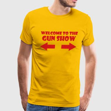 Guns Lifting THE GUN SHOW - Men's Premium T-Shirt