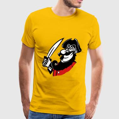 Degen Pirate cool degen funny - Men's Premium T-Shirt