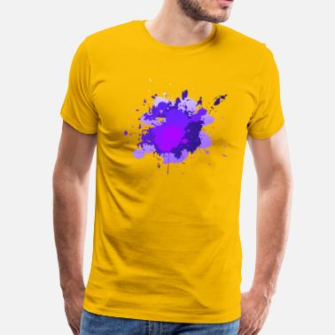 Painting Splatter Paint Splatter - Men's Premium T-Shirt