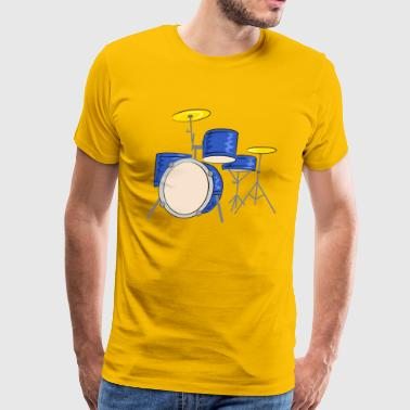 percussion - Men's Premium T-Shirt