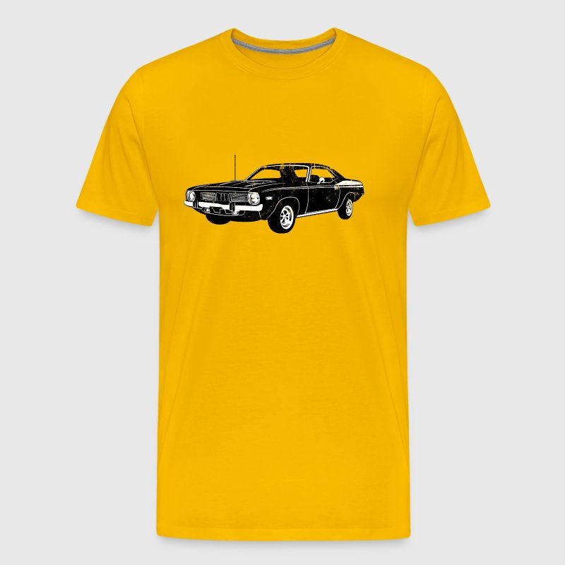 1970 Plymouth Barracuda - Men's Premium T-Shirt