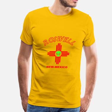 Roswell No Roswell - Men's Premium T-Shirt