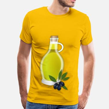 Greek Italian Olive Oil - Men's Premium T-Shirt