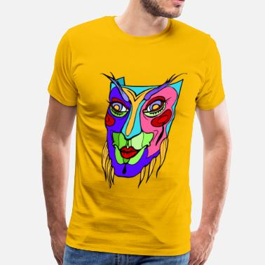 Mardi Gras The Mask Mardis gras - Men's Premium T-Shirt