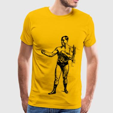 Tom Sharkey Pugilist - Men's Premium T-Shirt