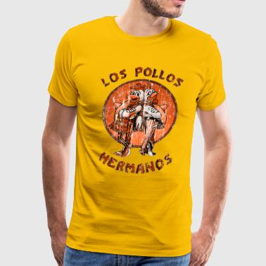 los pollos hermanos orange - Men's Premium T-Shirt