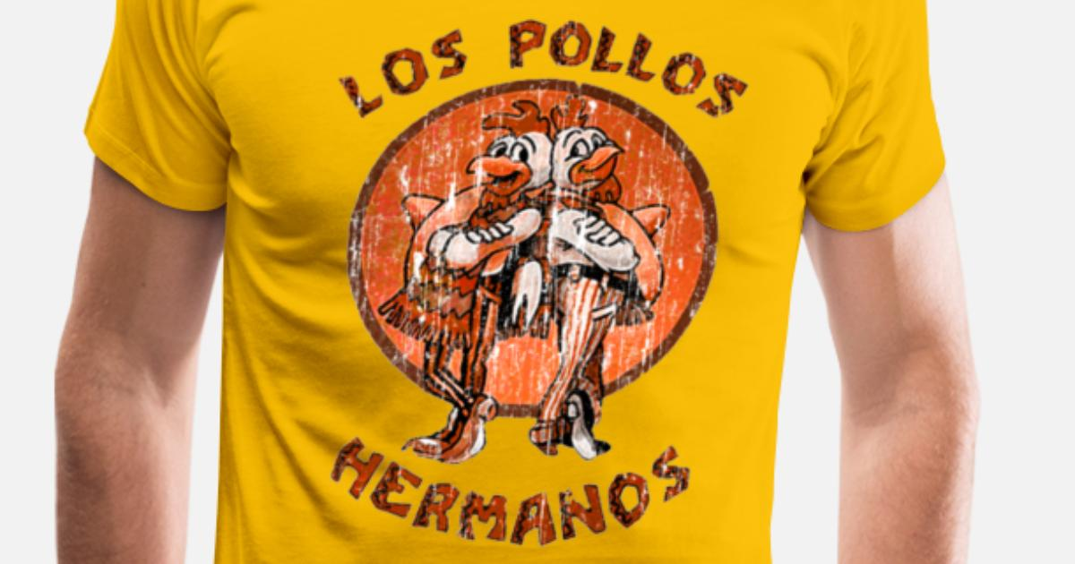 0d907e42 los pollos hermanos orange Men's Premium T-Shirt | Spreadshirt