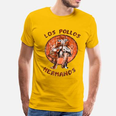 b3d17c99 Los Pollos Hermanos los pollos hermanos orange - Men's Premium T-Shirt