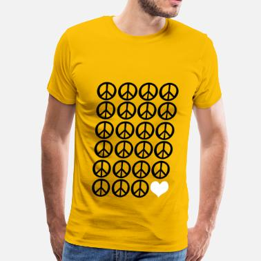Understanding peace peace and love - Men's Premium T-Shirt