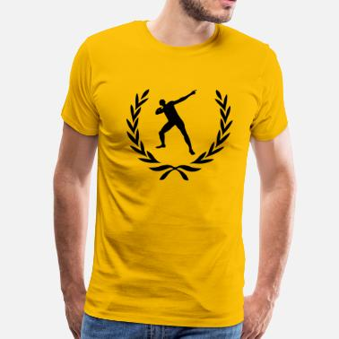Laurel Wreath Star Laurel wreath Usain Bolt - Men's Premium T-Shirt