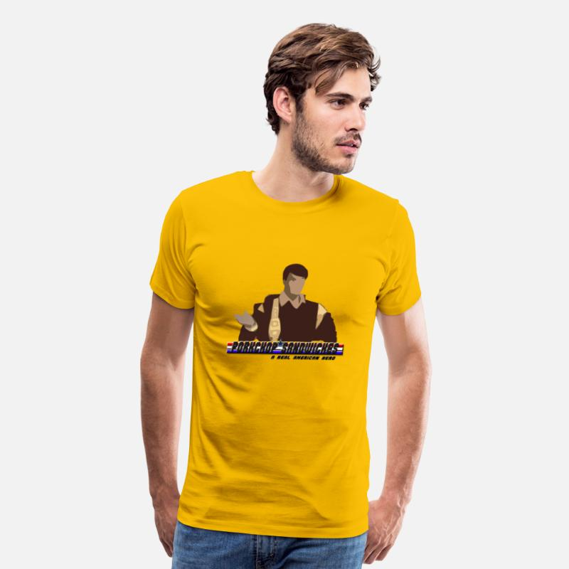 Youtube T-Shirts - porkchop sandwiches - Men's Premium T-Shirt sun yellow