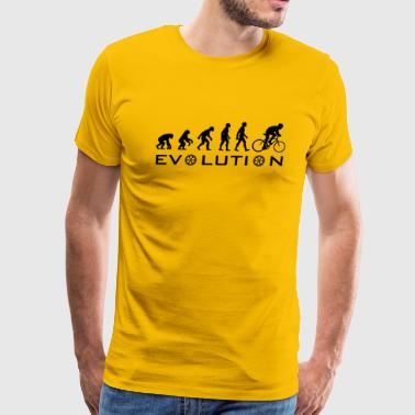 Evolution Of Bike - Men's Premium T-Shirt