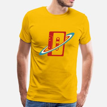 TAPE Yellow - Men's Premium T-Shirt