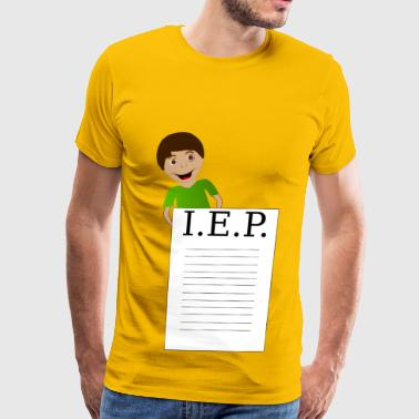 Boy Behind IEP - Men's Premium T-Shirt