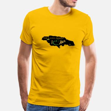 jamaica_vec_3 us - Men's Premium T-Shirt