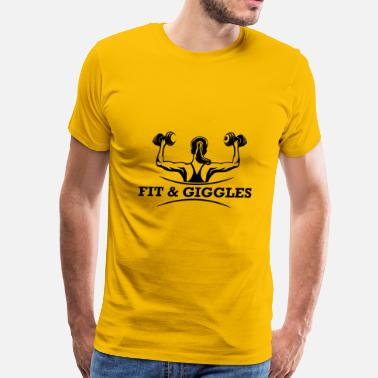 Giggle FiT and Giggles - Men's Premium T-Shirt