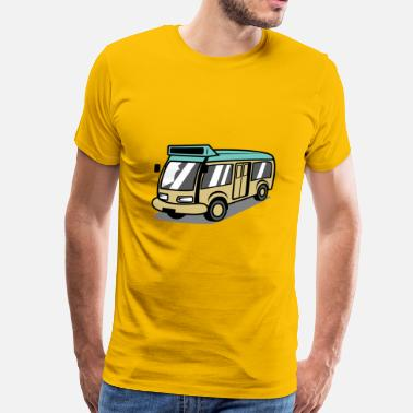 Mini Bus Minibus 4 - Men's Premium T-Shirt
