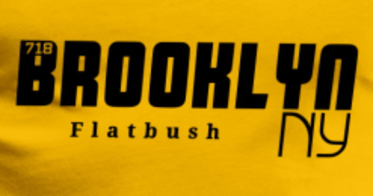 Flatbush Brooklyn (vector) Men s Premium T-Shirt  5006e06edda