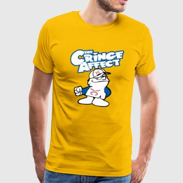 Hawaiian Cringe Guy Mash-Up - Men's Premium T-Shirt