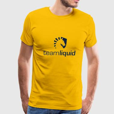 Csgo Team Team Liquid - Men's Premium T-Shirt