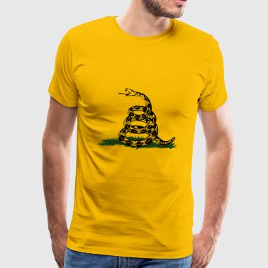 Gadsden Flag - Men's Premium T-Shirt