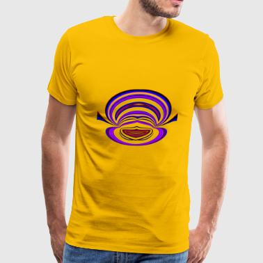 Icons Smiley Funny Smiley Face - Men's Premium T-Shirt