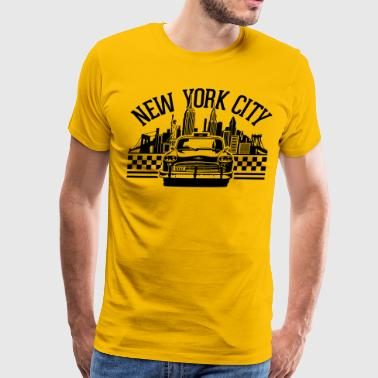 New York City Taxi - Men's Premium T-Shirt
