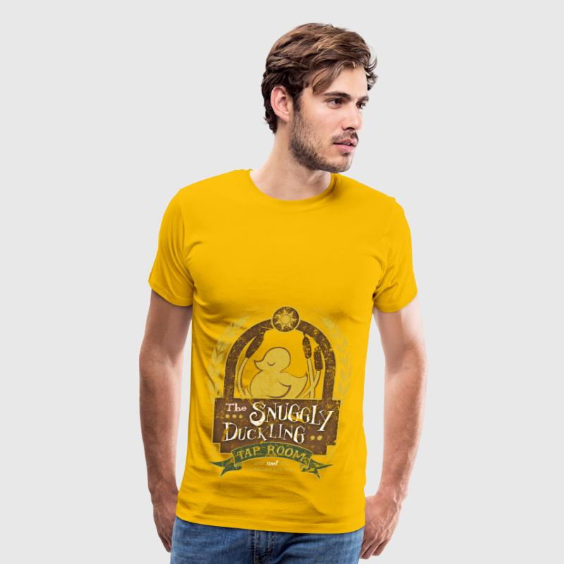 The Snuggly Duckling Tap Room - Men's Premium T-Shirt
