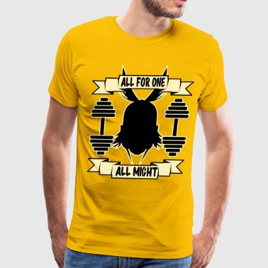 GYM ALL FOR ONE - Men's Premium T-Shirt