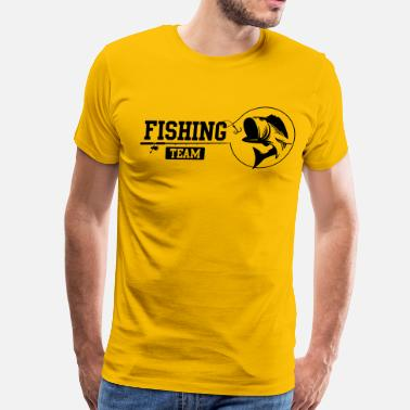Plaice Fishing Team - Men's Premium T-Shirt