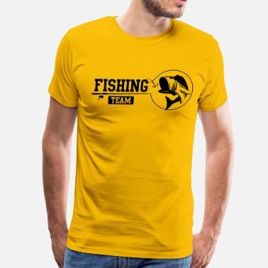 00f796a36 Team Rod Fishing Team - Men's Premium T-Shirt