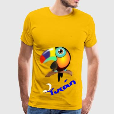 tucan colombiano - Men's Premium T-Shirt