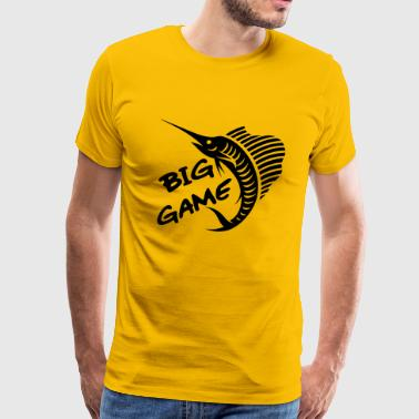 Fishing Games Big Game / Big Game Fishing - Men's Premium T-Shirt