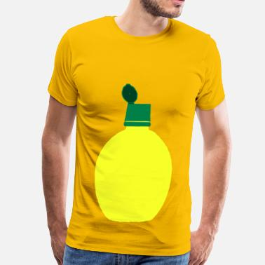 Lemon Juice Lemon Juice Bottle - Men's Premium T-Shirt