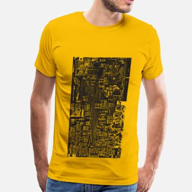Circuit Tech Circuit - Men's Premium T-Shirt