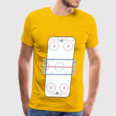 NHL rink - Men's Premium T-Shirt