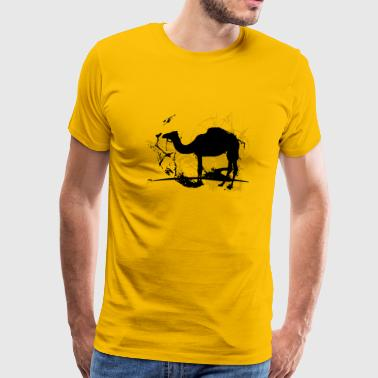 camel_bw - Men's Premium T-Shirt