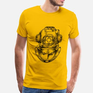 Rarity vintage scuba - Men's Premium T-Shirt