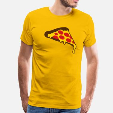 Pepperoni Pizza pizza slice pepperoni - Men's Premium T-Shirt