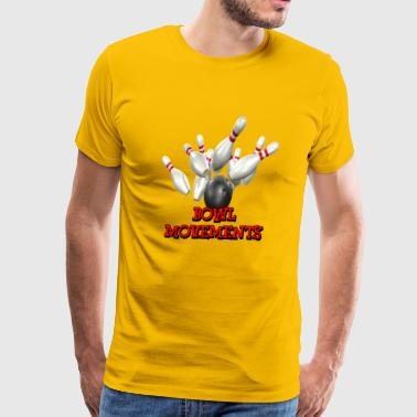 Bowling Team Bowl Movements - Men's Premium T-Shirt