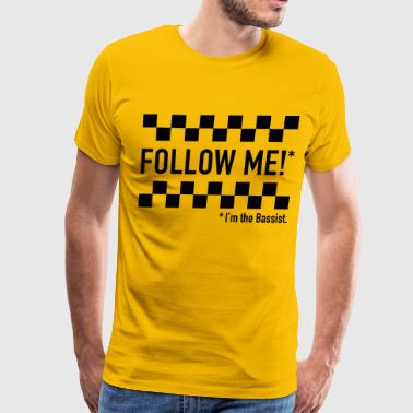 follow me! - Men's Premium T-Shirt