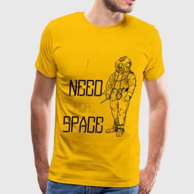 I Need More Space Astronaut i need more space astronaut vintage style - Men's Premium T-Shirt