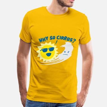 Cirrus Why So Cirrus? - Men's Premium T-Shirt